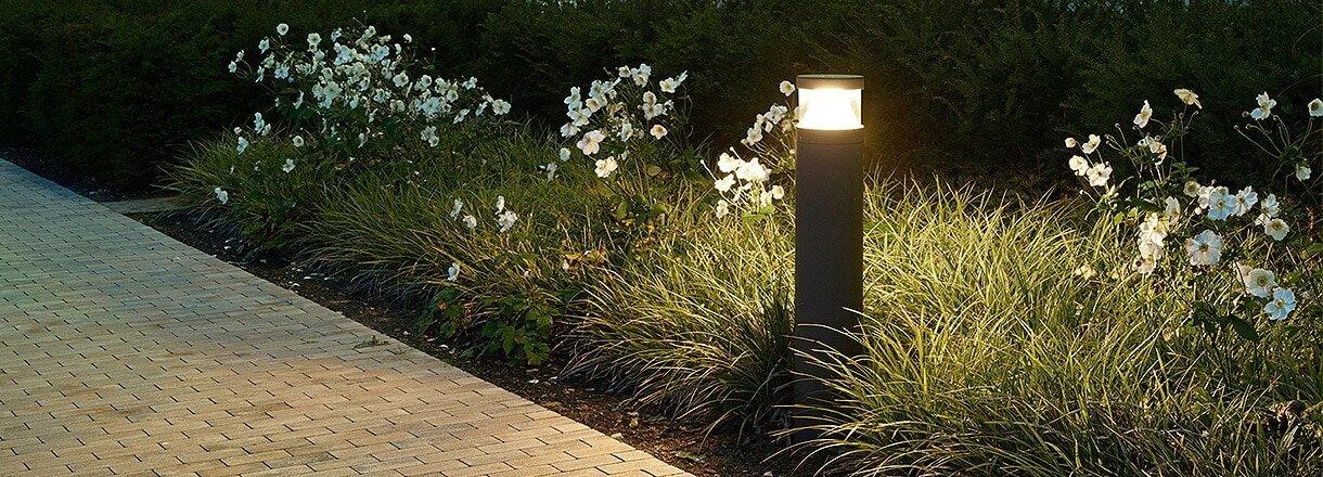 Luminarias Led De Exteriores Especiales Para Parques Y Jardines - Luminarias-para-jardin