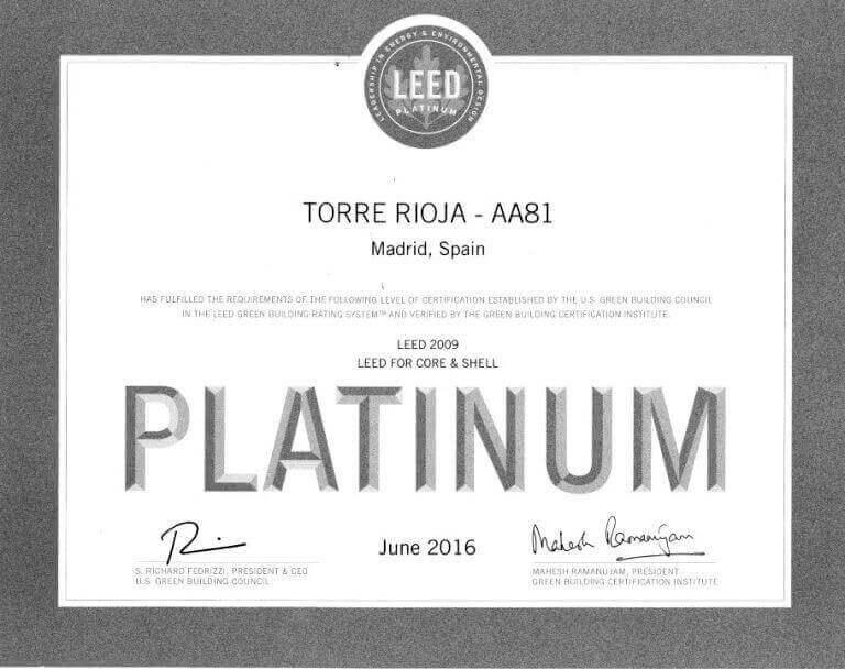 Certificado LEED