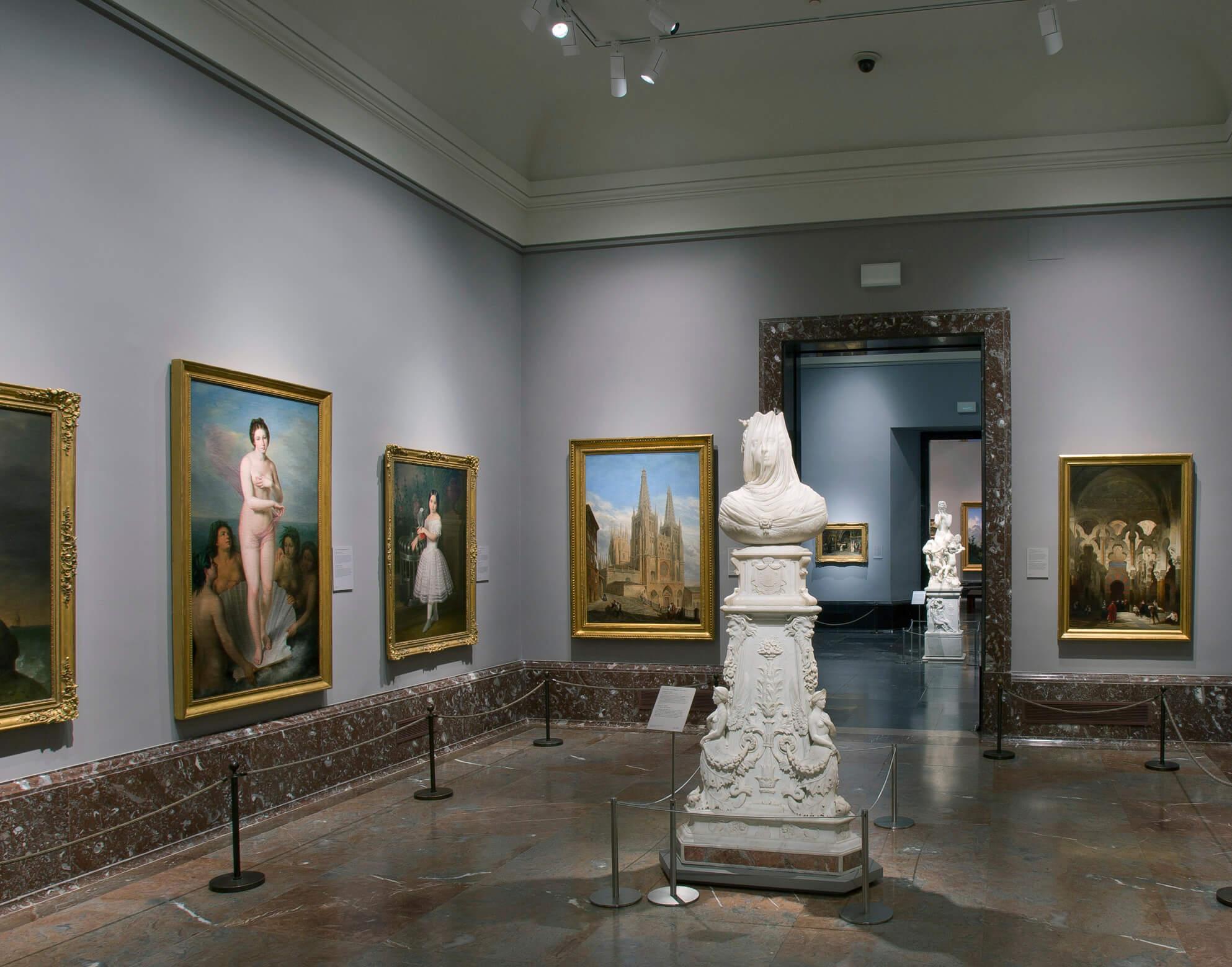 Museo del Prado iluminación de Lledó