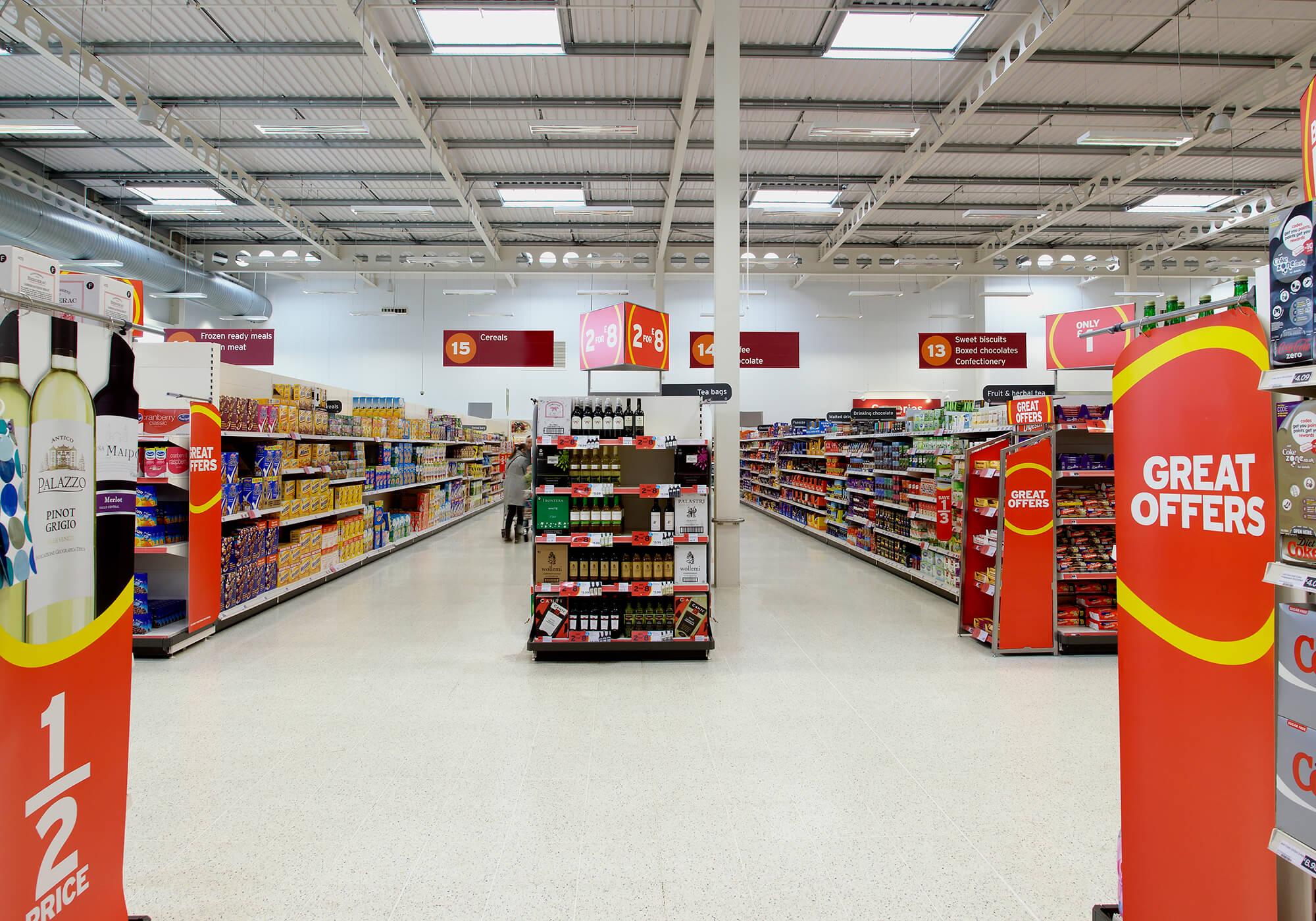 Sainsbury Lledó Sunoptics