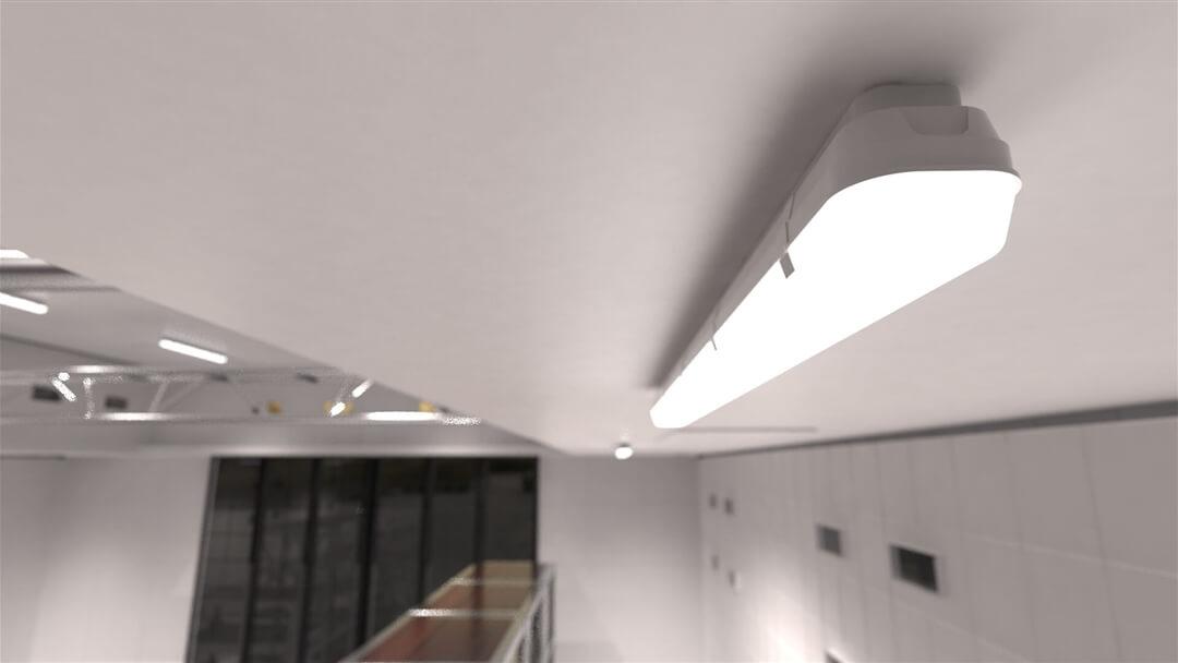Iluminación de proyecto con ATLANTICS IP66