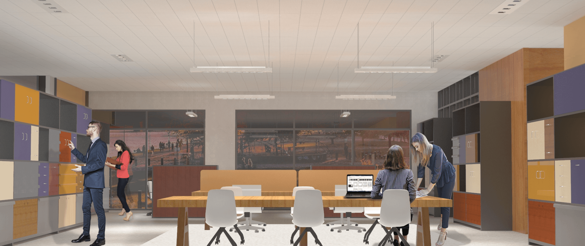 eQ S Line Smart · Luminarias preparadas para conectividad IoT.