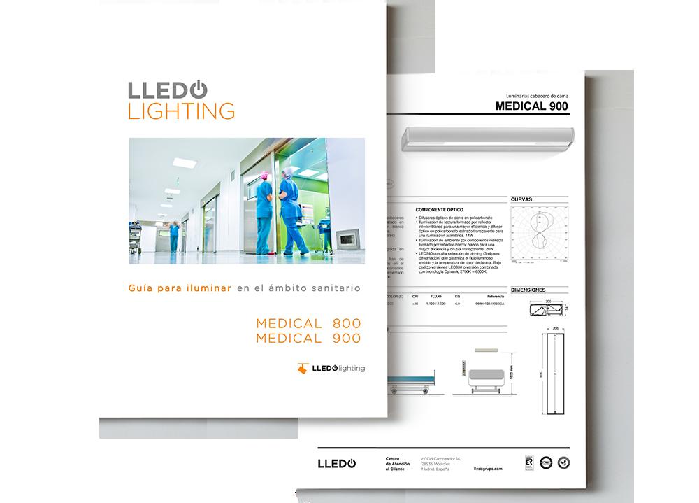Guía para iluminar en el ámbito sanitario portada