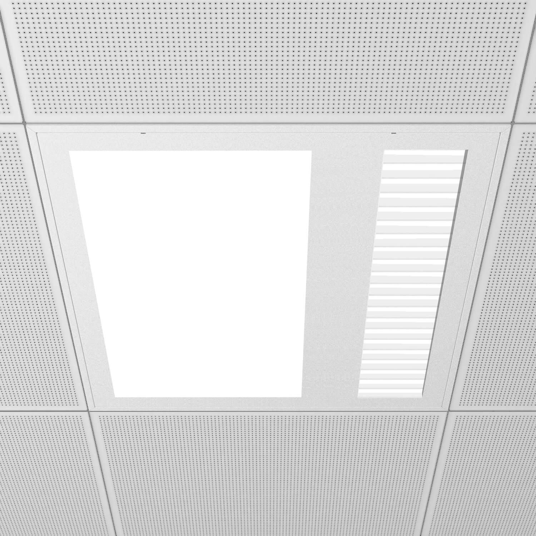 Medical-960 2 salidas - Luminarias diseñadas para habitaciones de hospitales.