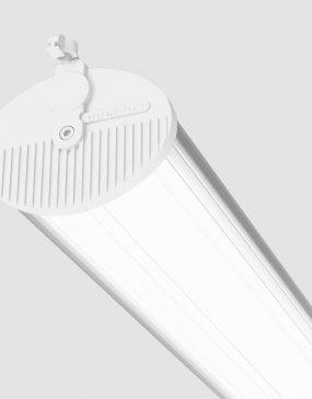 Luminaria para iluminación industrial en naves y centros de logística.