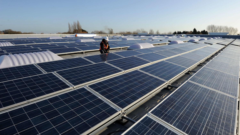 Paneles solares para cubiertas