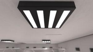 S840 iluminación industrial en altura