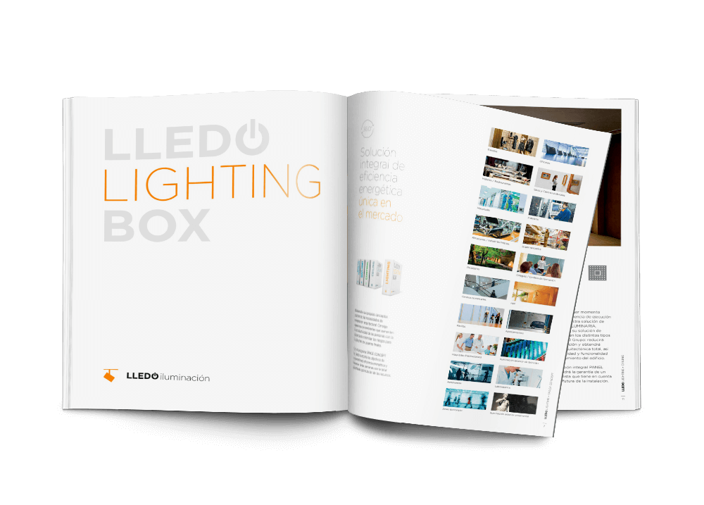 LLEDÓ LIGHTING BOX descarga de catálogo