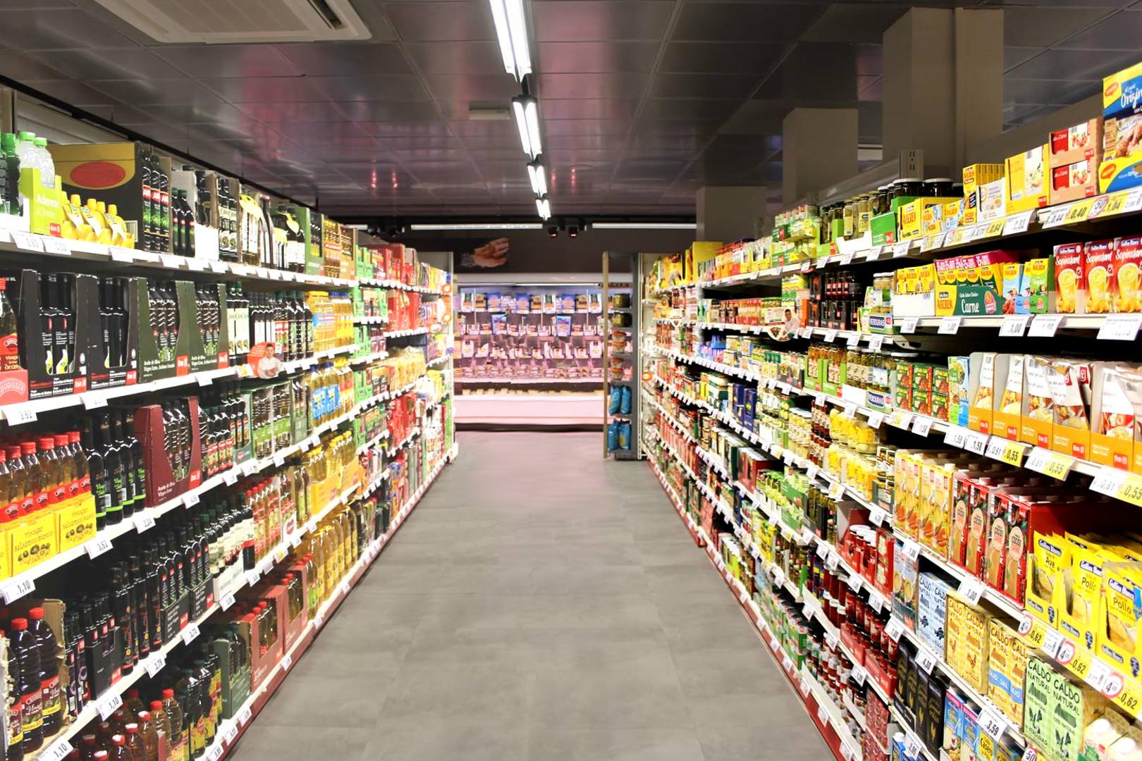FORUM iluminación de supermercados