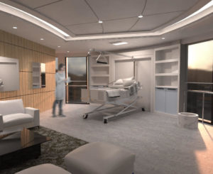 Habitación de hospital