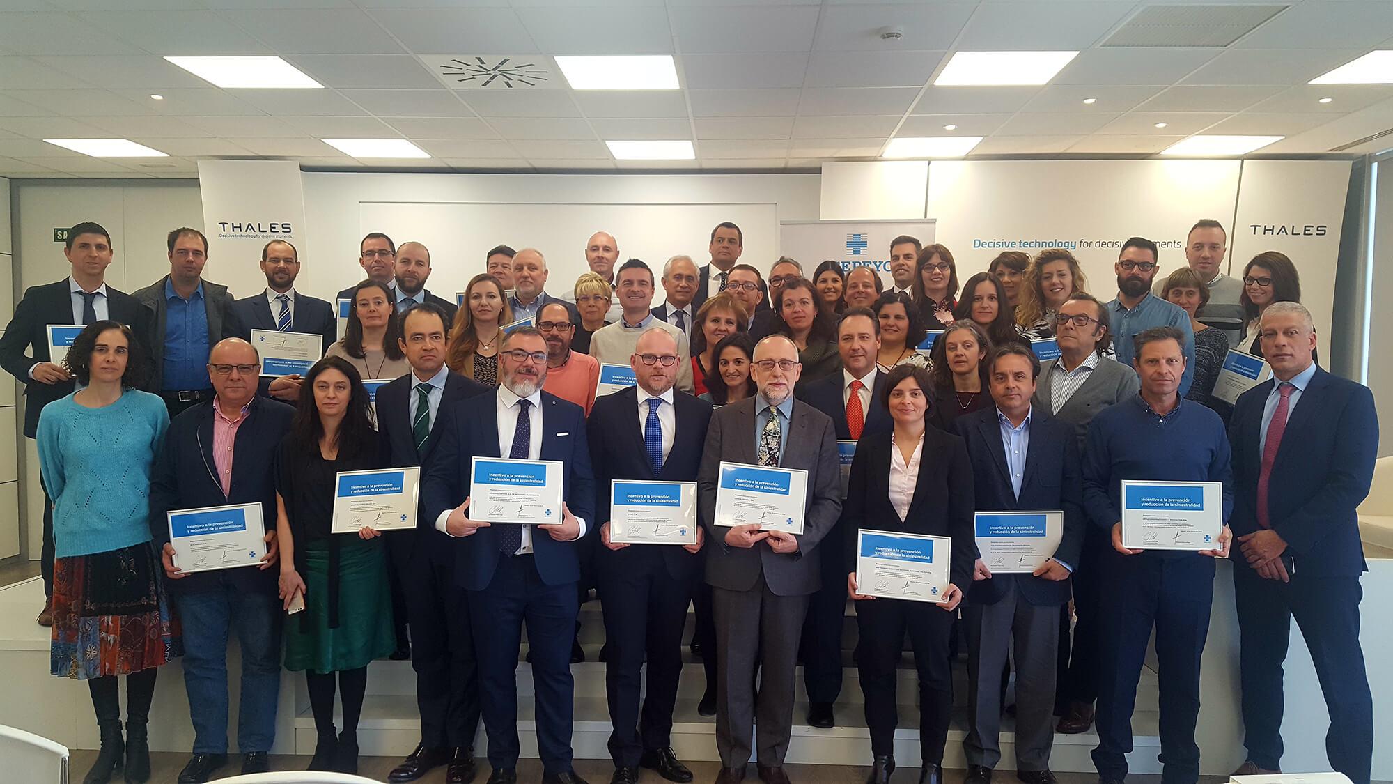 Premio por sus iniciativas en prevención de riesgos laborales