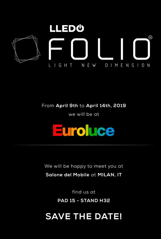 Euroluce Lledó FOLIO