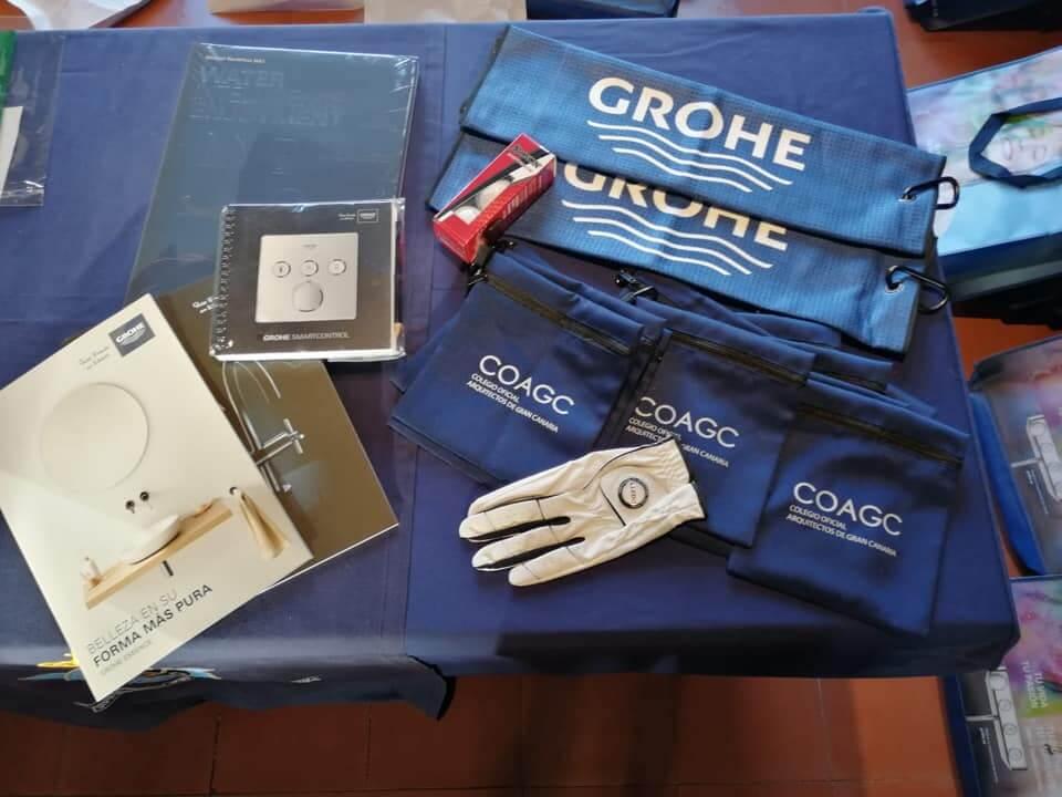 Entrega de Premios del Torneo 'Grohe-Lledó' de Golf para Arquitectos