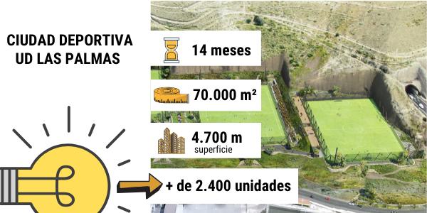 Nueva Ciudad Deportiva de la UD Las Palmas