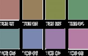 El CRI estándar evalúa sólo 8 colores.