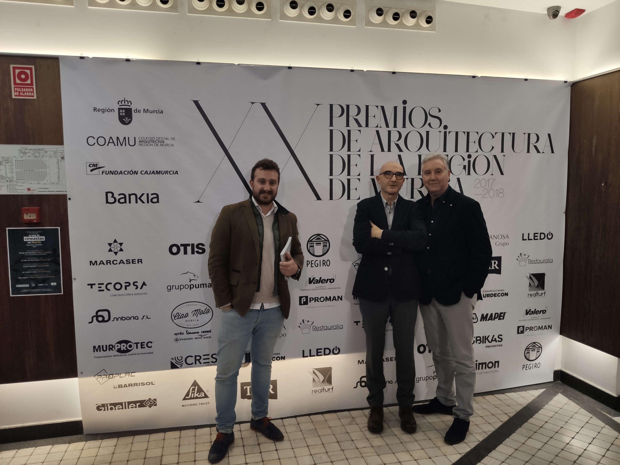 con el arquitecto Martin Lejarraga