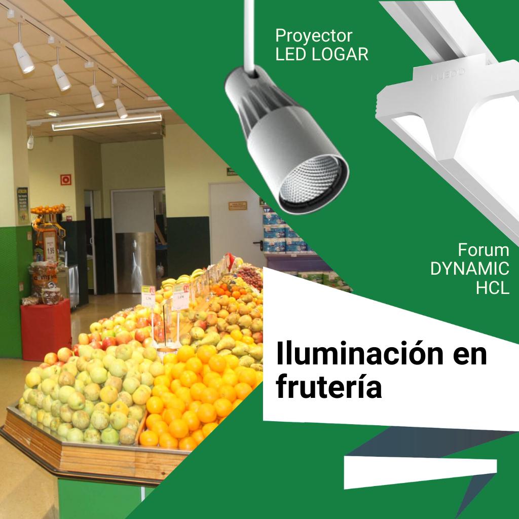 Iluminación en fruterías