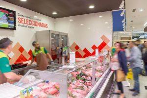 Iluminación en carnicería: potencia los rojos y respeta los blancos