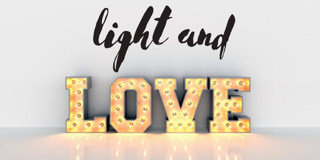 Iluminación romántica