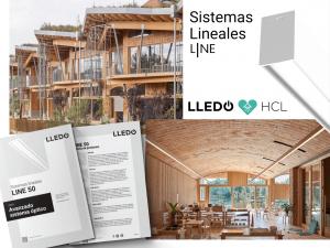 Integración iluminación HCL con sistemas lineales LINE