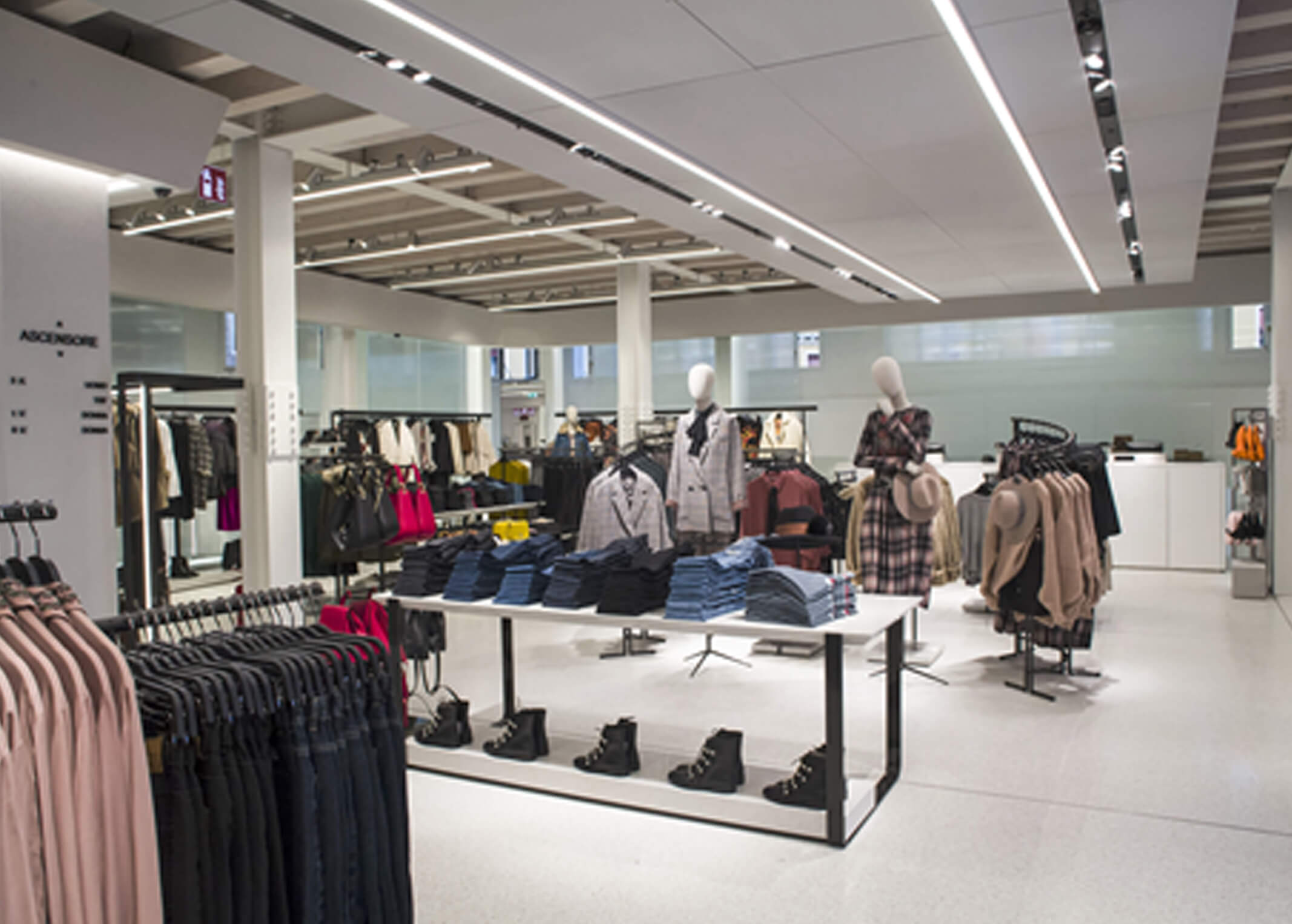 Iluminación en retail