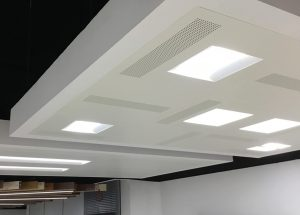 Ejemplo de instalación de techos integrales.