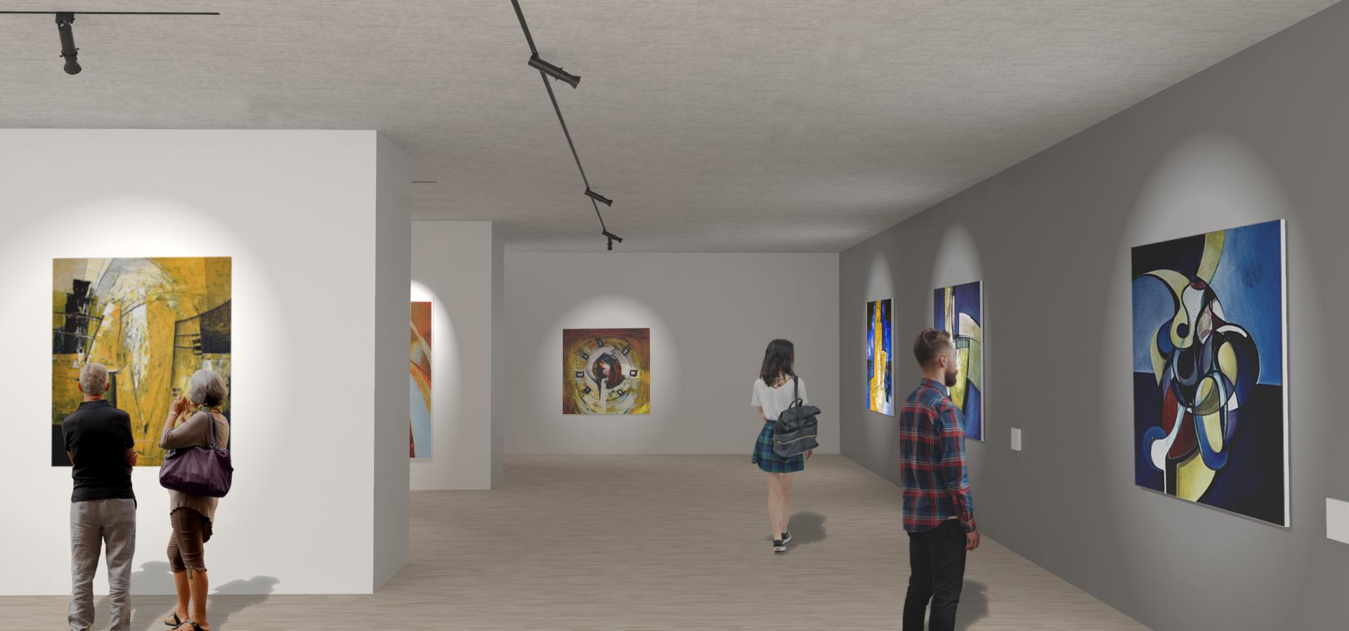 Renderización para aprender a iluminar un museo