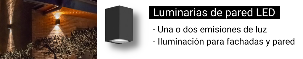 Luminarias de pared LED BEGA