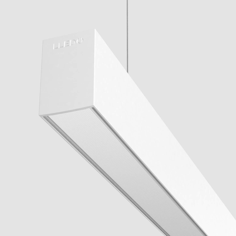 Luminarias lineales de alto rendimiento para uso en oficinas. LINE 50 2.0