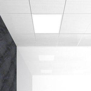 Detalle de luminarias ultrafinas de UGR 19