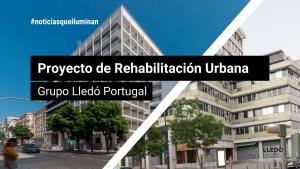 Proyecto Rheabilitación edificio - Lledó Portugal
