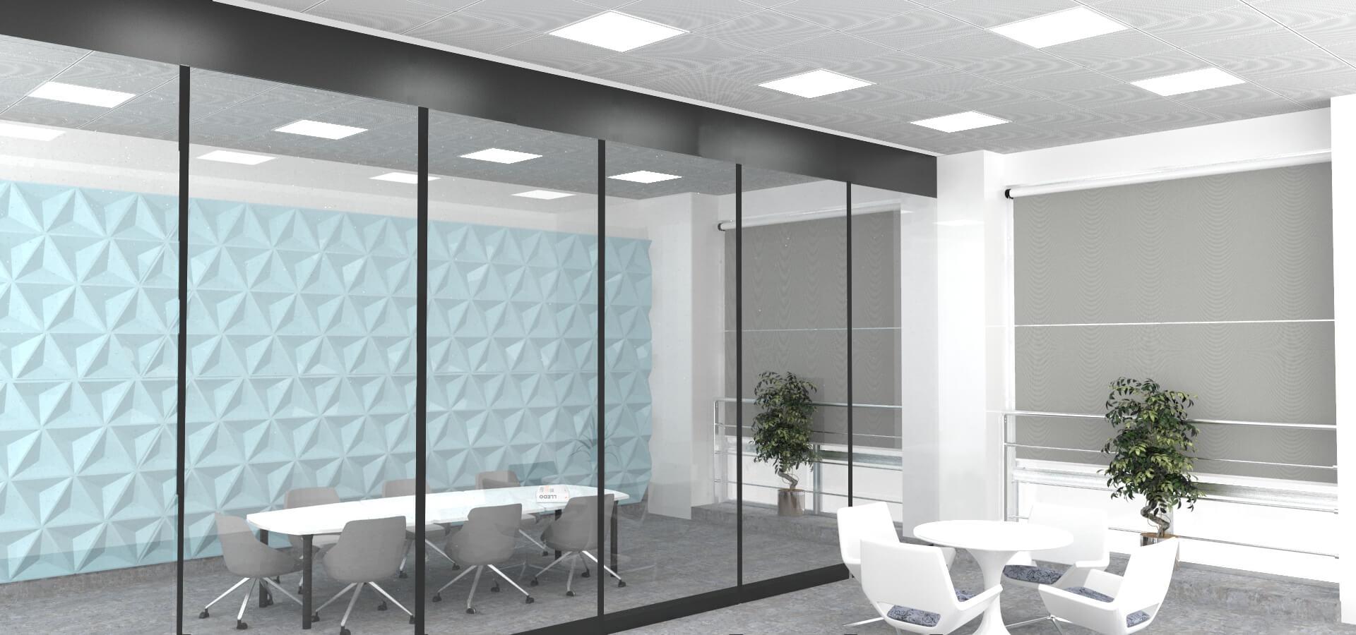 Proyecto de iluminación de oficinas con Lledó Snow