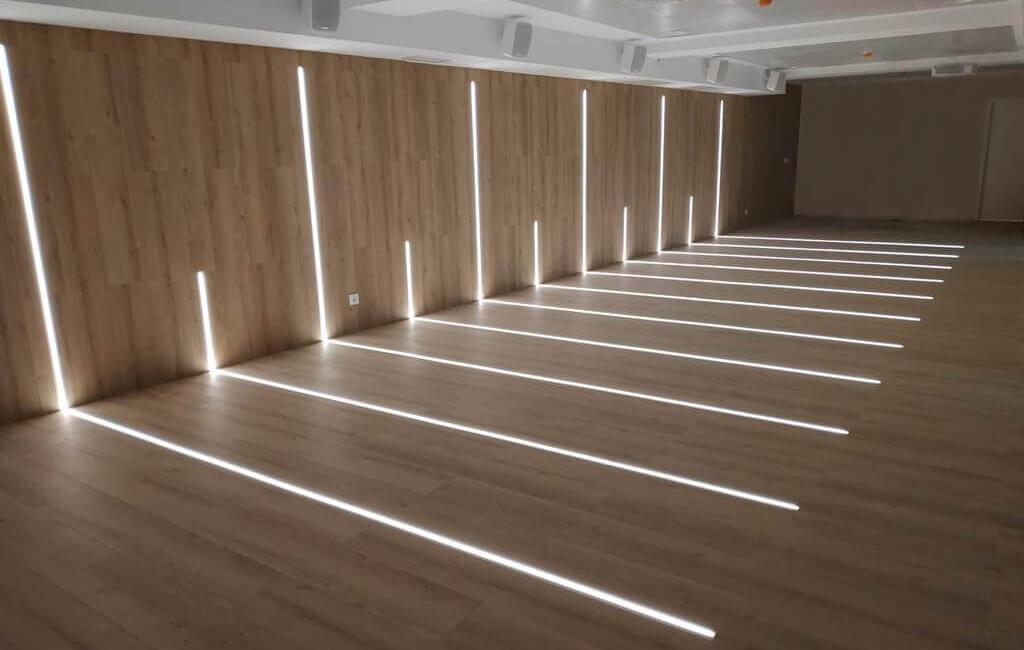 Ejemplo de proyecto con perfiles LED Corestrip